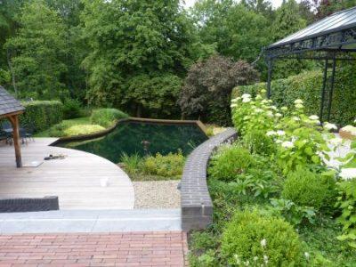 tuininrichting natuurlijk zwemwater Florijk