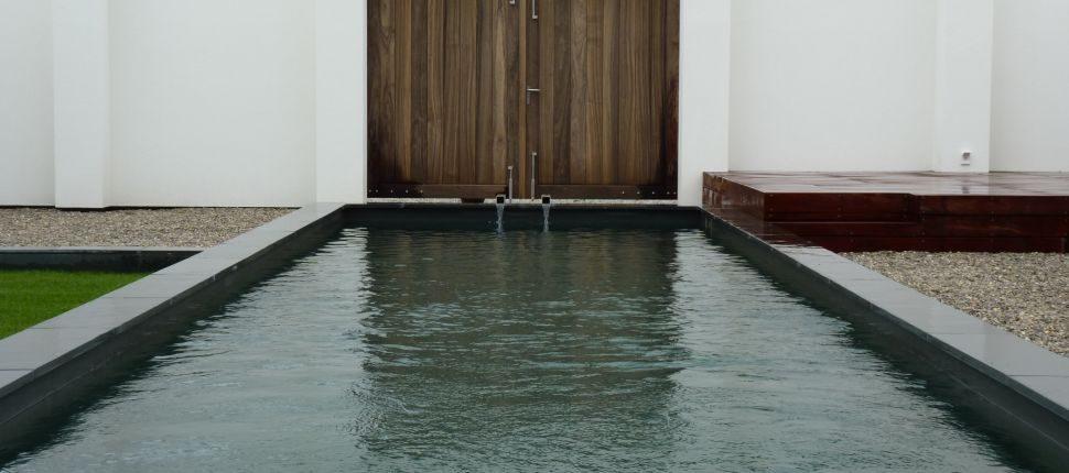 natuurlijk zwembad Eindhoven natuursteen