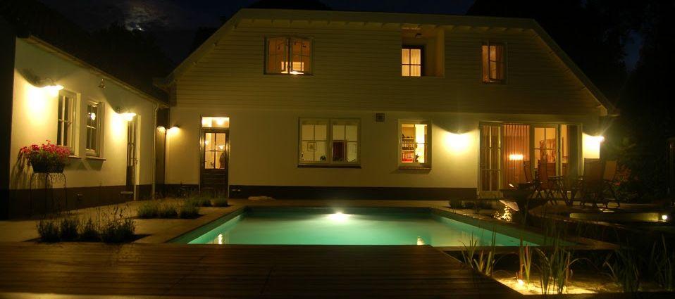 natuurlijk zwembad verlicht Sint Michielsgestel